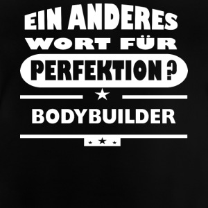 Protein Rocks bodybuilder Andre ord for Perfect - Baby T-shirt
