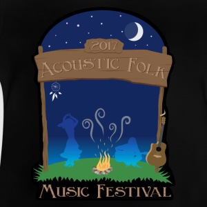Acoustic Folk Music Festival - T-shirt Bébé