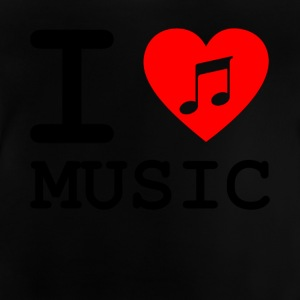 i love music v3 - T-shirt Bébé