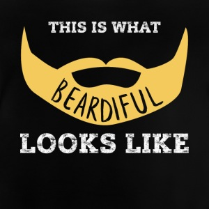 Beardiful v3 - Baby-T-shirt