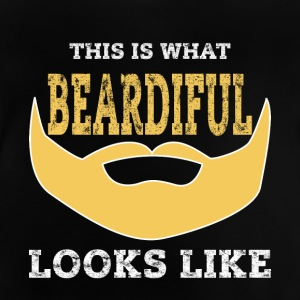 Beardiful v2 - Baby-T-shirt