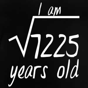 "85th fødselsdag: I Am ""Tag af 7225"" Years Old - Baby T-shirt"