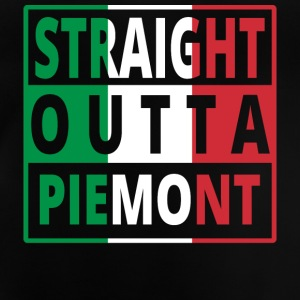 Straight outta Italia Italy Piedmont - Baby T-Shirt