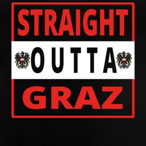 Straight outta Graz - Baby T-Shirt