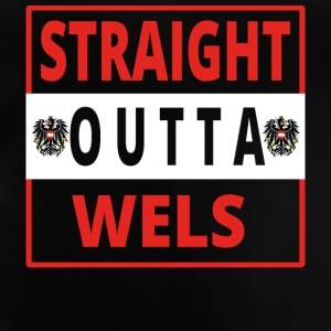 Straight outta Wels - Baby T-Shirt