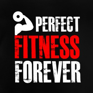 Perfekt fitness for evigt! - Baby T-shirt
