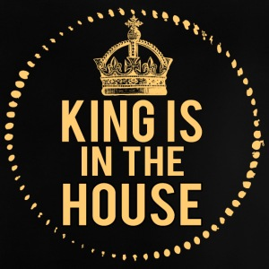 King is in het huis! - Baby T-shirt