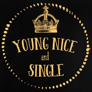 Young Nice and SINGLE - Baby T-Shirt