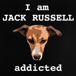 Jack russel addicted white - Baby T-Shirt