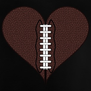 American Football Heart - Baby T-Shirt