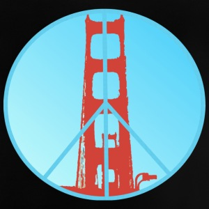 Golden Gate Peace - Baby T-Shirt