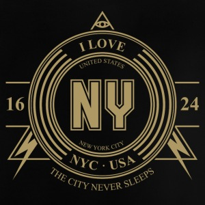 New York City Badge - Baby-T-shirt