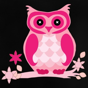 Pink owl - Baby T-Shirt