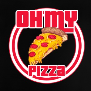 Oh my pizza - Camiseta bebé