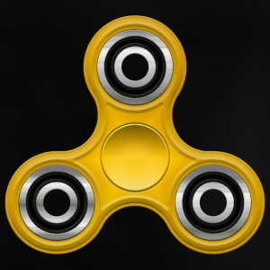 Fidget Spinner 006 Yellow round Designs - Baby T-shirt