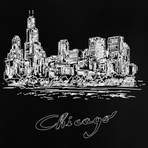 Chicago City - Estados Unidos - Camiseta bebé