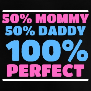 50% Mor, 50% Far, 100% Perfect - Baby T-shirt