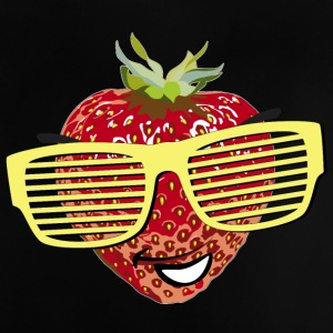 horny strawberry strawberry cool sunglasses Hipste - Baby T-Shirt