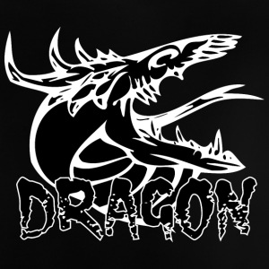 slang tong dragon black - Baby T-shirt