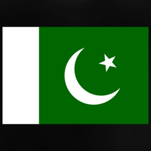 Pakistans nationale flag - Baby T-shirt