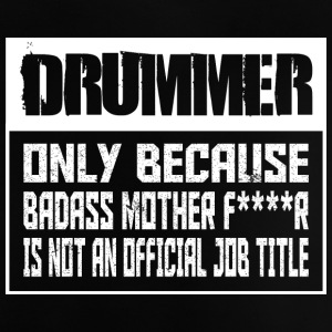 Awesome Drummer - Musik - Baby T-shirt