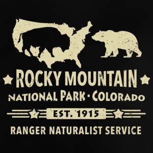 Bison Grizzly Rocky Mountain National Park Berg - Baby-T-shirt