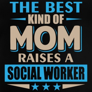 Mom Social Worker - mutter - Baby T-Shirt
