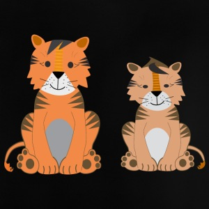To søde Tiger - Baby T-shirt