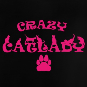 CRAZY CATLADY PINK - Baby T-Shirt