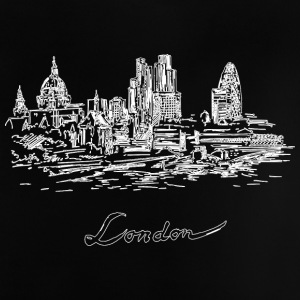 London City - Storbritannia - Baby-T-skjorte