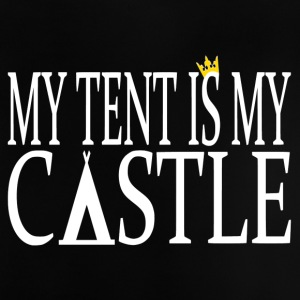 MyTent Is My Castle - Baby T-Shirt
