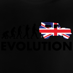 Britische Evolution - Baby T-Shirt