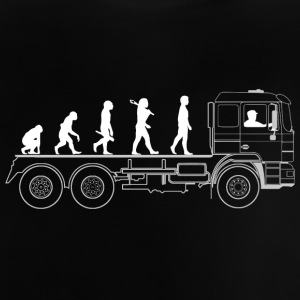 Truck evolution - Baby T-Shirt