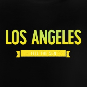 Typography LOS ANGELES FEEL THE SUN - Baby T-Shirt