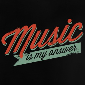MusicIsMyAnswer - T-shirt Bébé