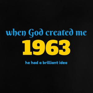 God idee in 1963 - Baby T-shirt