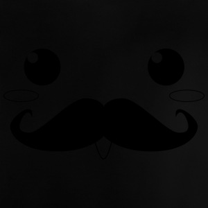 moustached - Baby-T-shirt