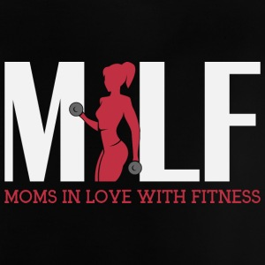 Moms in love with fitness - Baby T-Shirt