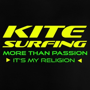 Kitesurfing - MERE END PASSION - ITS min religion - Baby T-shirt