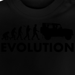 evolutie - Baby T-shirt