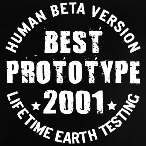 2001 - The birth year of legendary prototypes - Baby T-Shirt