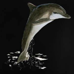 Tursiops_truncatus - Baby-T-skjorte