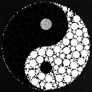 Yin and yang - Baby T-Shirt
