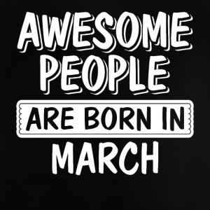 Great people are born in March - Baby T-Shirt