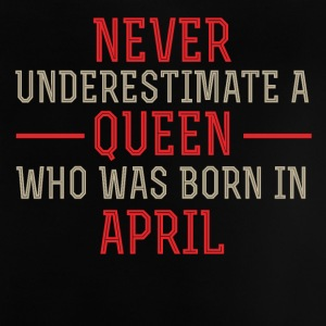 Queen April birthday - Baby T-Shirt