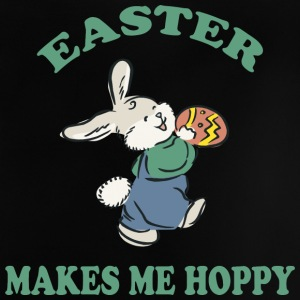 Easter Makes Me Hoppy - Baby T-Shirt