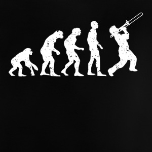 TRUMPET EVOLUTION! - Baby-T-shirt