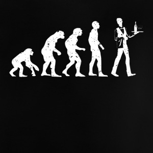 EVOLUTION servitör! - Baby-T-shirt