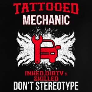 TATTOOED MECHANIC - Baby T-shirt