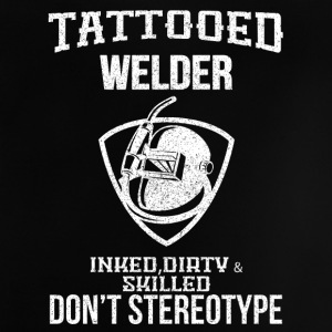 TATTOOED WELDER - Baby T-shirt